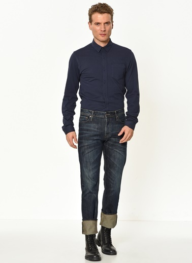 Jack & Jones Slim Fit Gömlek Lacivert